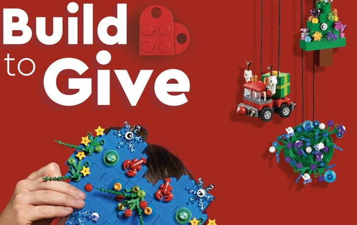Costruisci con i Lego a Orio al Serio E nuovi mattoncini vanno in ospedale