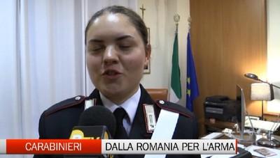 Dalla Romania per servire l'Italia e l'Arma dei Carabinieri