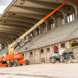 L'AlbinoLeffe batte cassa al Comune «542 mila euro per i lavori allo stadio»