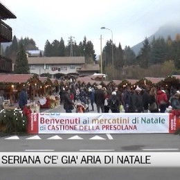 Natale in Val Seriana, si parte nel weekend a Castione e Gromo