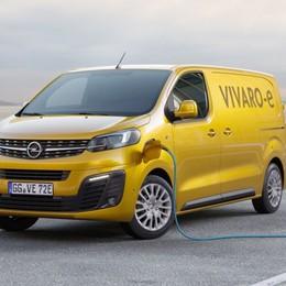 Opel Vivaro diventa anche elettrico