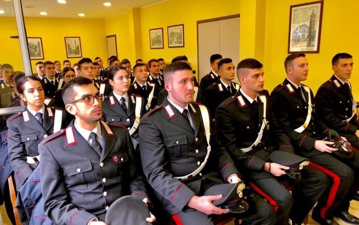 Sicurezza, arrivati    35 nuovi carabinieri Tra loro ci sono anche cinque donne