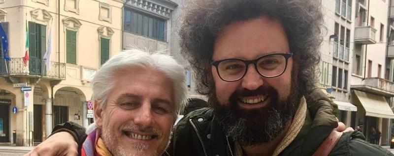 Simone Cristicchi ricorda Fra Giorgio «Il tuo sorriso illuminava il mondo» - L'Eco di Bergamo
