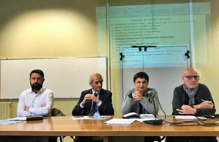 Paolo Franco, Franco Gatti, Gisella Rota e Carmelo Scaffidi
