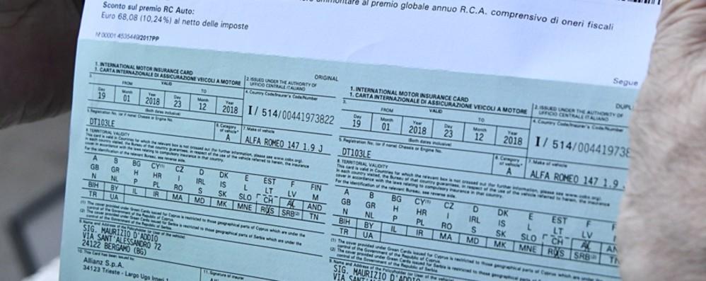 In vendita senza assicurazione Sequestrate 14 auto a San Paolo d'Argon