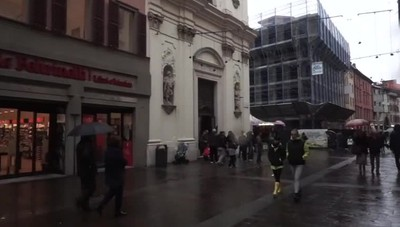 La magia di Santa Lucia a Bergamo Già tante letterine in via XX Settembre