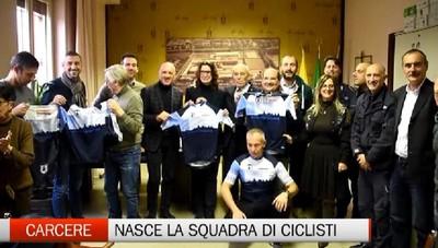 Carcere: nasce la squadra di ciclismo degli agenti con Norma Gimondi come madrina