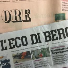 «Eco» e «Sole 24 ore» insieme in edicola Il 22 novembre  il «Rapporto Lombardia»