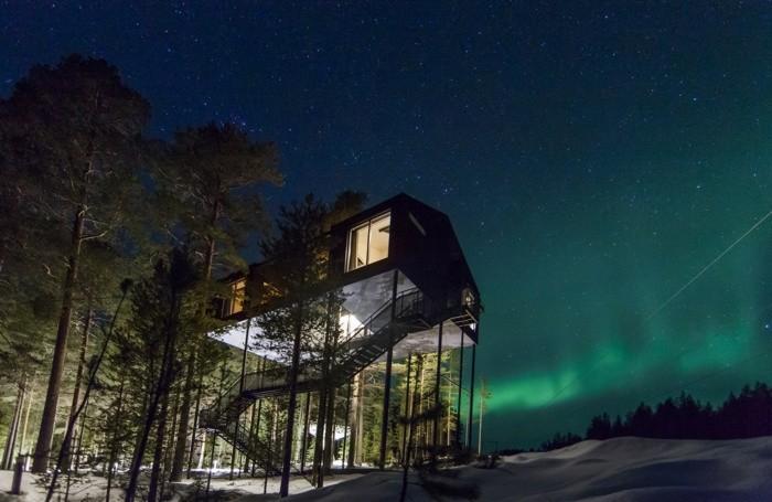 Treehotel nella Lapponia svedese