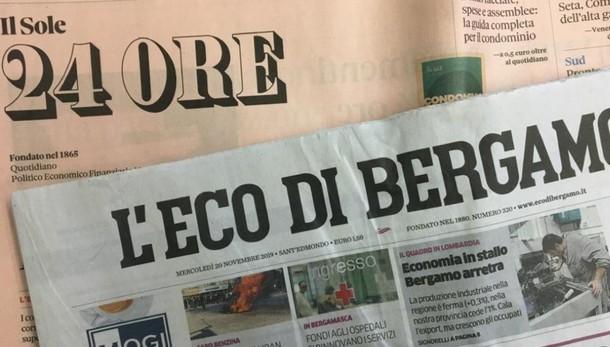 L'Eco in abbinamento al «Sole 24 ore» Il 22 novembre in edicola con il «Rapporto Lombardia»