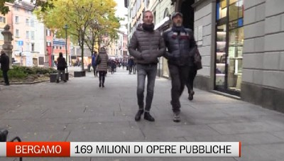 Presentato il piano opere pubbiche di Bergamo. Il traffico resta l'osservato speciale
