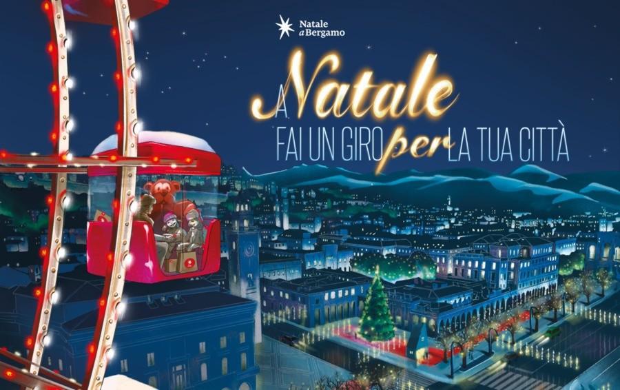 Si accende il Natale in centro a Bergamo Dieci chilometri di luci e il grande albero