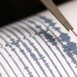 Terremoto in Valtellina di magnitudo 2,8 Percepito anche in alta Val Brembana