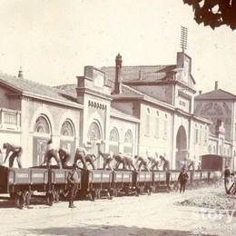 Bergamo, il macello e il vecchio tram Un pezzo di città che oggi non c'è più