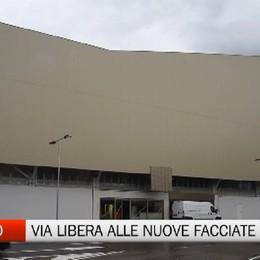 Stadio, via libera alle nuove facciate laterali