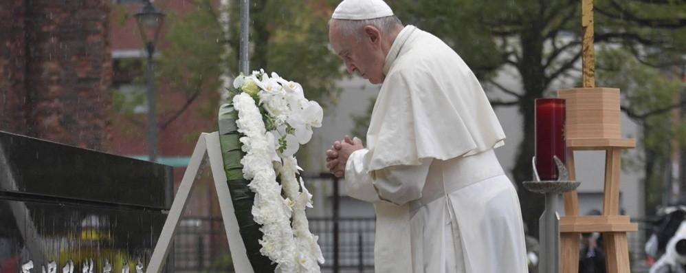 Stop del Papa al nucleare Le armi immorali