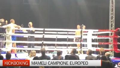 Luca Mameli esplode sul ring e (in 50) conquista il titolo europeo di Kickboxing