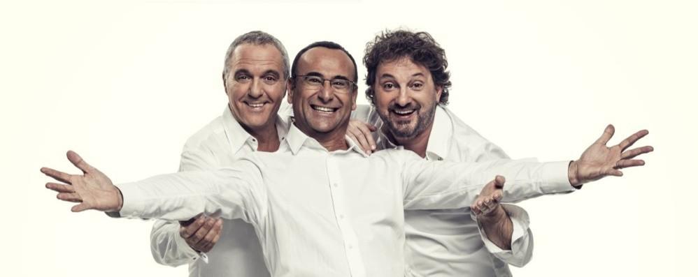 Panariello, Conti e Pieraccioni Il trio arriva al Creberg Teatro