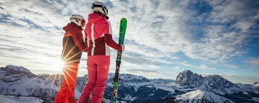 Val Gardena Ski Caching Caccia al tesoro sulla neve