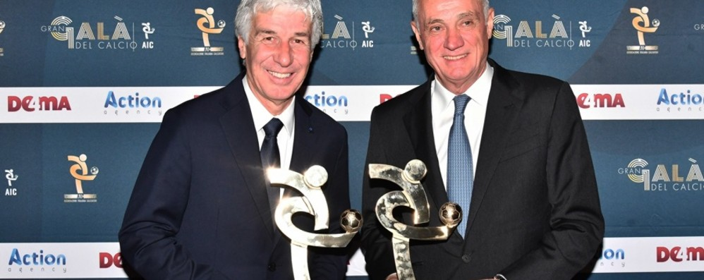 Atalanta regina agli Oscar del calcio Miglior allenatore e miglior società