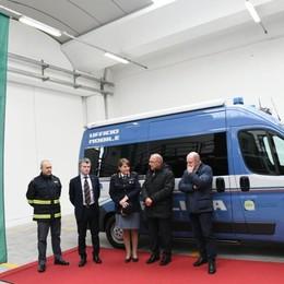 Brebemi, nuovo ufficio mobile per i controlli della Stradale