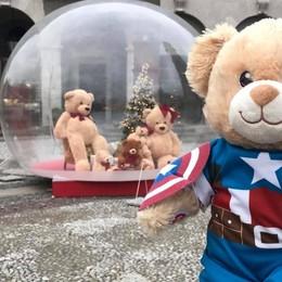 «Il mio SuperTeddy alla Casa degli orsi  Noi bimbi malati siamo dei Supereroi»