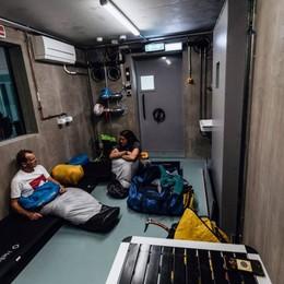 In una stanza come a 8.000 metri Moro e Lunger, la preparazione estrema