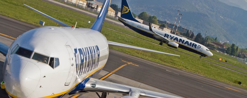 Orio al Serio, pista e velivoli più sicuri Il primo scalo italiano con «letto d'arresto»