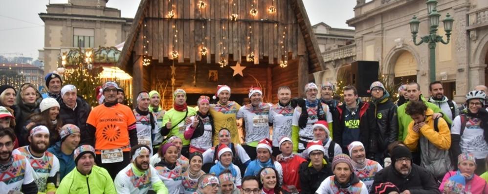 Torna la «We run for Christmas» Tedofori «in rosa» per l'edizione 2019