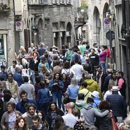 Turismo, boom di presenze a Bergamo +0,6% gli arrivi, +3,2% il numero dei turisti
