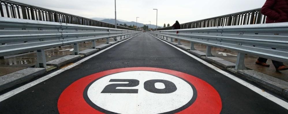 Calusco, alle 15 riapre il ponte Sul viadotto il ministro De Micheli