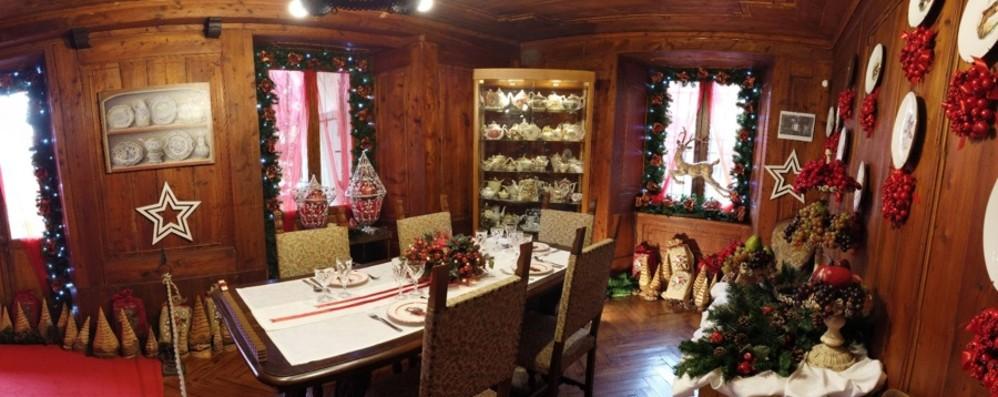 La Casa bergamasca di Babbo Natale A Gromo c'è già aria di festa per i bimbi