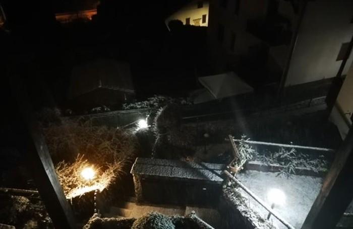 Neve anche a Valbondione