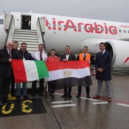 Da Bergamo si vola a Il Cairo Da dicembre una rotta in più