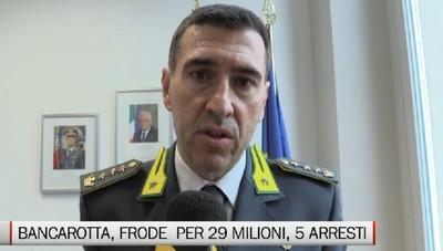 Fiamme Gialle, maxi operazione  Arrestati 3 imprenditori e 2 professionisti