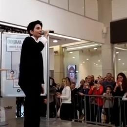 Giordana Angi, live a Oriocenter