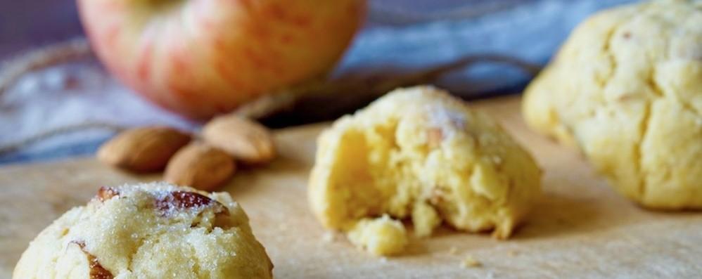 I biscotti morbidi  alle mele