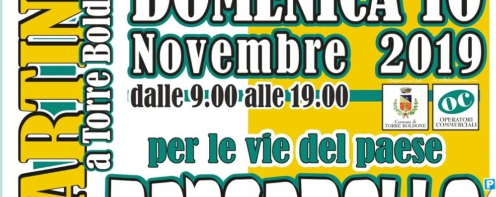 Torre Boldone, Festa di San Martino Domenica di divertimenti per vie del paese