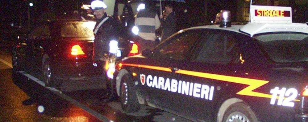 Ciserano, tre arresti in flagrante In auto hashish, cocaina e soldi