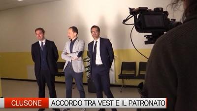 Clusone, accordo storico tra Vest e  Patronato  San Vincenzo: grazie ad un donatore le due realtà saranno rilanciate