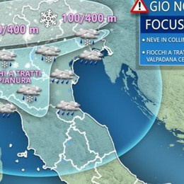 Con Santa Lucia arriverà altra neve Ecco le previsioni per i prossimi giorni