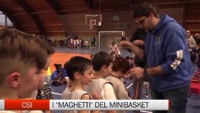 Csi - Con il minibasket lo sport diventa green