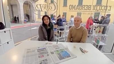 Eco café a Ponte San Pietro Intervista al sindaco Marzio Zirafa