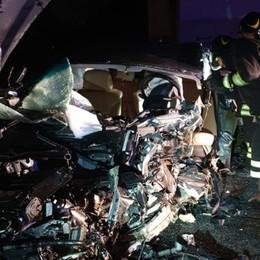 Frontale a Zanica: muore una donna   Gravissimo anche  un quarantenne