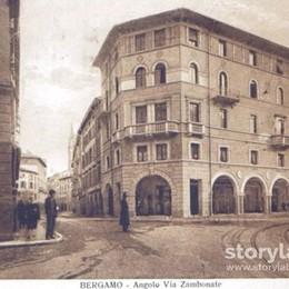 Bergamo, cartolina dal passato Il fascino intatto del centro città