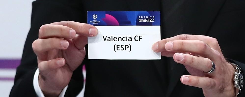 Il Valencia sarà l'avversario dell'Atalanta Champions, il sorteggio è fortunato
