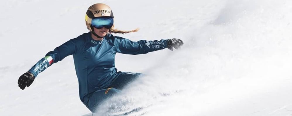 Snowboard, Moioli seconda all'esordio Buon avvio di stagione per la bergamasca