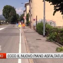 Via libera al nuovo piano per le asfaltature, Bergamo investe oltre un milione