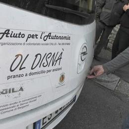 109mila pasti consegnati a domicilio Bergamo, 55mila al progetto «Ol disnà»