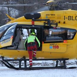 50enne cade sul monte Avaro, è grave Curò, scivola in un dirupo: c'è l'elicottero